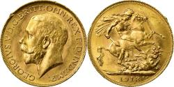 World Coins - Coin, Australia, George V, Sovereign, 1918, Perth, , Gold, KM:29