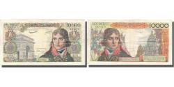 World Coins - France, 10,000 Francs, Bonaparte, 1957, 1957-07-04, EF(40-45), Fayette:51.9