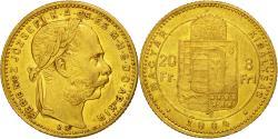 Ancient Coins - Coin, Hungary, Franz Joseph I, 8 Forint 20 Francs, 1884, Kormoczbanya