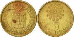 World Coins - Portugal, 5 Escudos, 1990, , Nickel-brass, KM:632