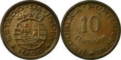 World Coins - Coin, INDIA-PORTUGUESE, 10 Centavos, 1959, , Bronze, KM:30