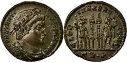 Ancient Coins - Coin, Constantine I, Nummus, Trier, MS(60-62), Copper, Cohen:254