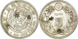 World Coins - Coin, Japan, Mutsuhito, Yen, 1894, Chinese chopmarks, , Silver