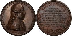 World Coins - France, Medal, Louis XVI, Silvain Bailly, Maire de Paris, History, 1789