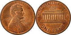 Us Coins - United States, Lincoln Cent, Cent, 1989, U.S. Mint, Denver, , Copper