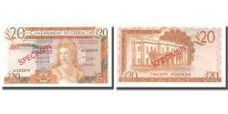 World Coins - Banknote, Gibraltar, 20 Pounds, 1975, 1975-11-20, Specimen, KM:23a, UNC(65-70)