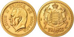 Ancient Coins - Coin, Monaco, Louis II, 2 Francs, Undated (1943), ESSAI, , Gold, KM:E10