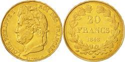 Ancient Coins - Coin, France, Louis-Philippe, 20 Francs, 1848, Paris, AU(50-53), Gold, KM:750.1