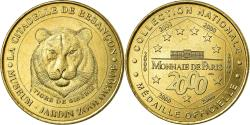 World Coins - France, Token, Touristic token, Besançon - zoo  - Le tigre, Arts & Culture