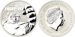 World Coins - Coin, Tuvalu, Hulk, Dollar, 2019, British Royal Mint, Proof, , Silver