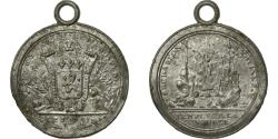 World Coins - France, Medal, 1790, FEDERATION MARTIALE - LYON, , Tin, Henin 130
