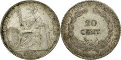 World Coins - Coin, FRENCH INDO-CHINA, 20 Cents, 1923, Paris, , Silver, KM:17.1