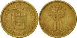World Coins - Portugal, 10 Escudos, 1988, , Nickel-brass, KM:633