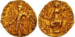 Coin, Kushan Empire, Vasudeva II, 1/4 Dinar, 290-310, Pedigree, , Gold