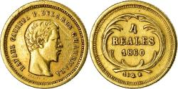 World Coins - Coin, Guatemala, 4 Reales, Cuatro, 1860, , Gold, KM:135