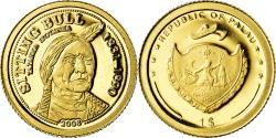 World Coins - Coin, Palau, Sitinf Bull, Dollar, 2008, , Gold