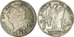 World Coins - Coin, France, Écu de 6 livres françois, ECU, 6 Livres, 1792, Paris,