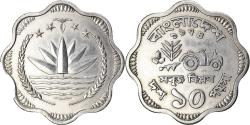 World Coins - Coin, Bangladesh, 10 Poisha, 1974, , Aluminum, KM:7