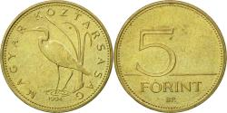 World Coins - Coin, Hungary, 5 Forint, 1994, Budapest, , Nickel-brass, KM:694