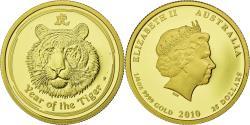 World Coins - Coin, Australia, Elizabeth II, Lunar, 25 Dollars, 2010, Perth, , Gold