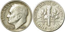 Us Coins - Coin, United States, Roosevelt Dime, Dime, 1957, U.S. Mint, Denver,