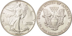Us Coins - United States, Dollar, 1988, Philadelphia, , Silver, KM:273