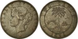World Coins - Coin, Liberia, 2 Cents, 1896, Heaton, Birmingham, England, , Bronze