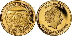 World Coins - Coin, Fiji, Elizabeth II, Grand Canyon - USA, 10 Dollars, 2011, , Gold