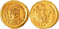 Ancient Coins - Coin, Justin II, Solidus, Constantinople, Rare, , Gold