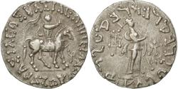 Ancient Coins - Coin, Indo-Scythian Kingdom, Azes I, Tetradrachm, AU(55-58), Silver