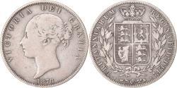 World Coins - Coin, Great Britain, Victoria, 1/2 Crown, 1876, , Silver, KM:756