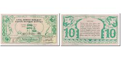 World Coins - Banknote, Indonesia, 10 Rupiah, 1947, 1947-12-15, KM:S123, VF(20-25)