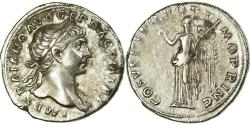 Ancient Coins - Coin, Trajan, Denarius, Roma, EF(40-45), Silver, RIC:128