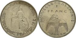 World Coins - Coin, New Caledonia, Franc, 1948, Paris, MS(60-62), Nickel-Bronze, KM:E4