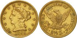 Us Coins - Coin, United States, Coronet Head, $2.50, Quarter Eagle, 1899, U.S. Mint