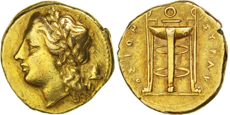 Ancient Coins - Sicily, Syracuse (317-289 BC), Agathokles, Syracuse, 25 Litra, ,...