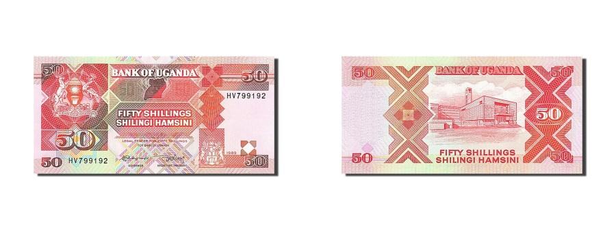 World Coins - Uganda, 50 Shillings, 1987, KM:30b, 1989, UNC(65-70)