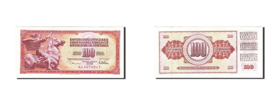 World Coins - Yugoslavia, 100 Dinara, 1978, 1978-08-12, KM:90a, UNC(63), AU 4070547