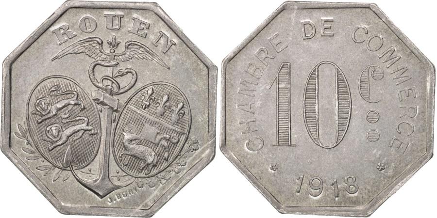 World Coins - France, 10 Centimes, 1918, , Aluminium, Elie:10.2