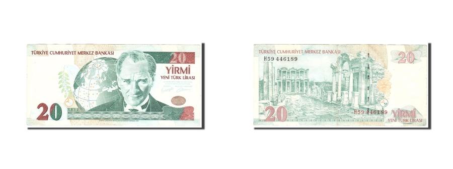 World Coins - Turkey 20 New Lira 2005 KM:219  EF(40-45) H59446189