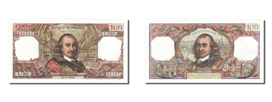 World Coins - France, 100 Francs, 100 F 1964-1979 ''Corneille'', 1978, KM #149f, 1978-10-05,..