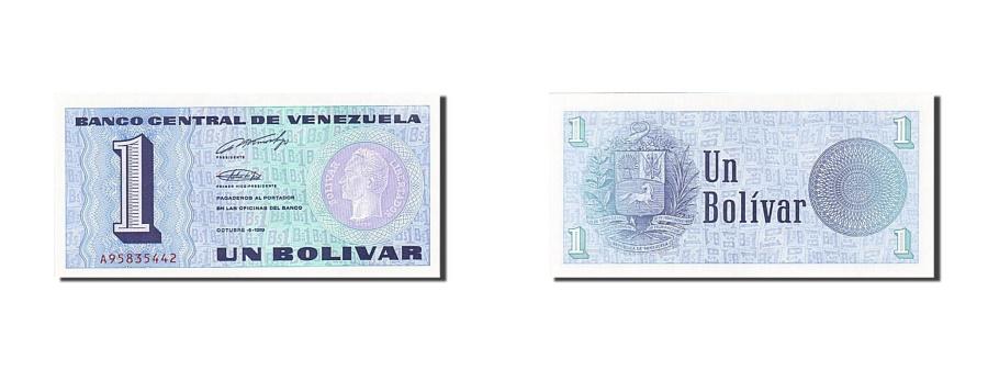 World Coins - Venezuela, 1 Bolivar, 1989, 1989-10-05, KM:68, UNC(65-70)