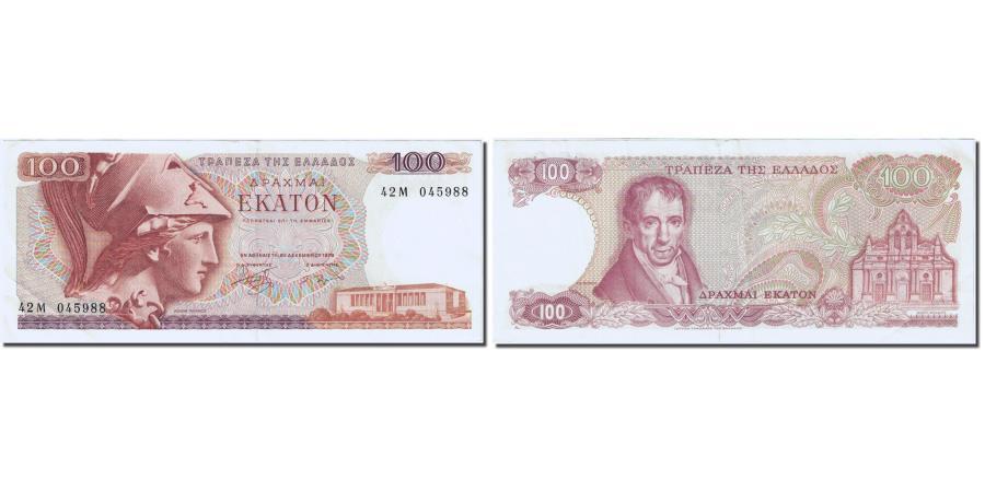 World Coins - Banknote, Greece, 100 Drachmai, 1978, 1978-12-08, KM:200a, AU(55-58)