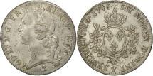 World Coins - France, Louis XV, Écu au bandeau, 1746, Troyes, EF(40-45), Silver, KM:512.21