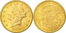 Us Coins - United States, Liberty Head, $20, 1888, San Francisco, EF(40-45), KM 74.3