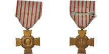 World Coins - France, Croix du Combattant de 1914-1918, Medal, Excellent Quality, Bronze, 36