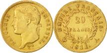 World Coins - France, Napoléon I, 20 Francs, 1811, Paris, EF(40-45), Gold, KM:695.1