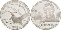 World Coins - France, 5 Francs, 1992, MS(65-70), Silver, KM:1007, Gadoury:C 32
