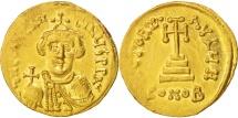 Constans II 641-668, Solidus, 651-654, Constantinople, AU(50-53), Gold, Sear:940