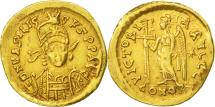 Ancient Coins - Basiliscus, Solidus, Constantinople, EF(40-45), Gold, RIC:1003